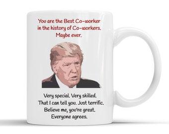 Best COWORKER In History Mug Coworker Giftcoworkercoworker Mugcoworker Birthdaycoworker Coffee Giftscoworker Mugs