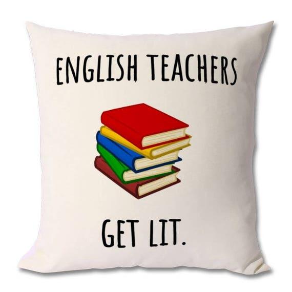 Engels Leraar Cadeau Geschenk Van De Leraar Docenten Dag Etsy