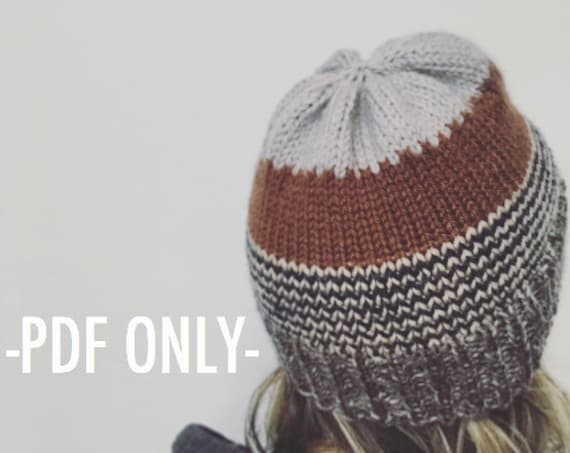 The Campfire Toque Pattern