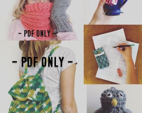 The Gretchen's Picks Crochet and Knit Pattern Bundle