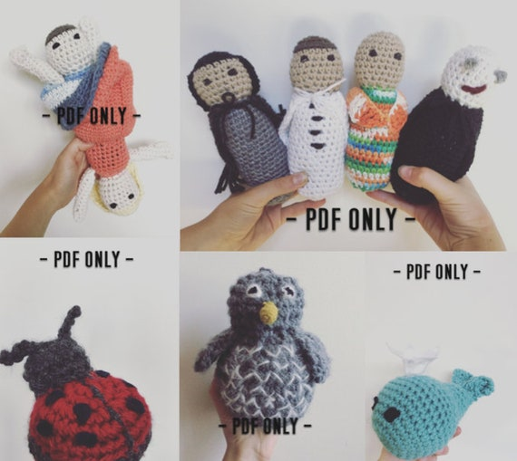 The Stuffies Crochet Pattern Bundle