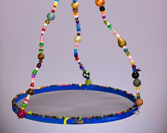 Beaded Bird Feeder