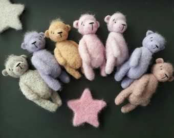 Newborn props photography bear toy