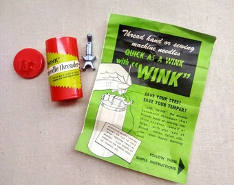 Vintage Wink Needle Threader New