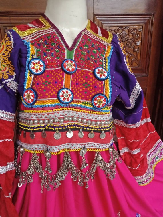 Afghan vintage pakhtoon kuchi boho tribal ethnic d