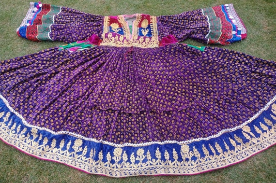 Afghan traditional ethnic kuchi pashtun tribal dre
