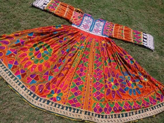 Afghan Vintage Kuchi Pashtun Ethnic Tribal Banjara