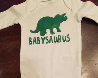 Dino Bodysuit | Dinosaur | Stegasaurus | Babysaurus