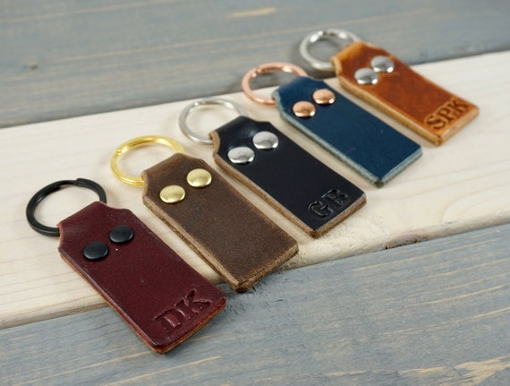Personalized Leather Key Chain Womens Keychain Key chain  24b70acf8d