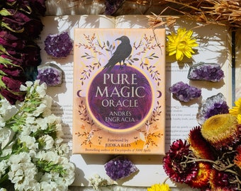 PURE MAGIC ORACLECARDS for strength, courage and clarity