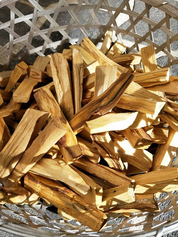 10 pcs Holy Palo Santo- Aromatic Holy Wood,  Incense, smudge, Holy stick, Aromatherapy, alter tool, Ritual
