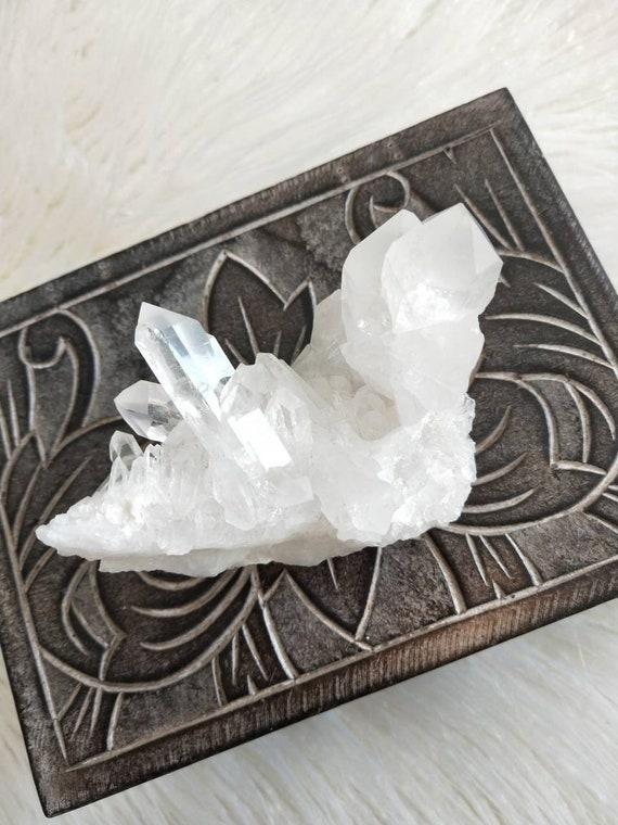 Clear Quartz cluster, Clear quartz, Stone Specimen, Healing Crystal, Master Healer, Reiki, Meditation, Crystals