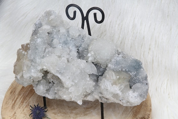 Giant Apophyllite- A masterpiece, Your spiritual Advisor, Joy, Love, Purification,  Completely Natural Crystal Cluster, Special Price