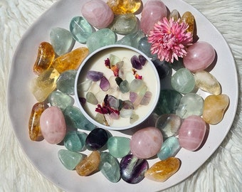 High Priestess Candle~ Fluorite, Our Favourite Candle, Scented Candle, Best Candle, Luxury Candle