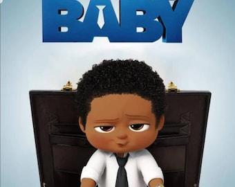 Black boss baby | Etsy