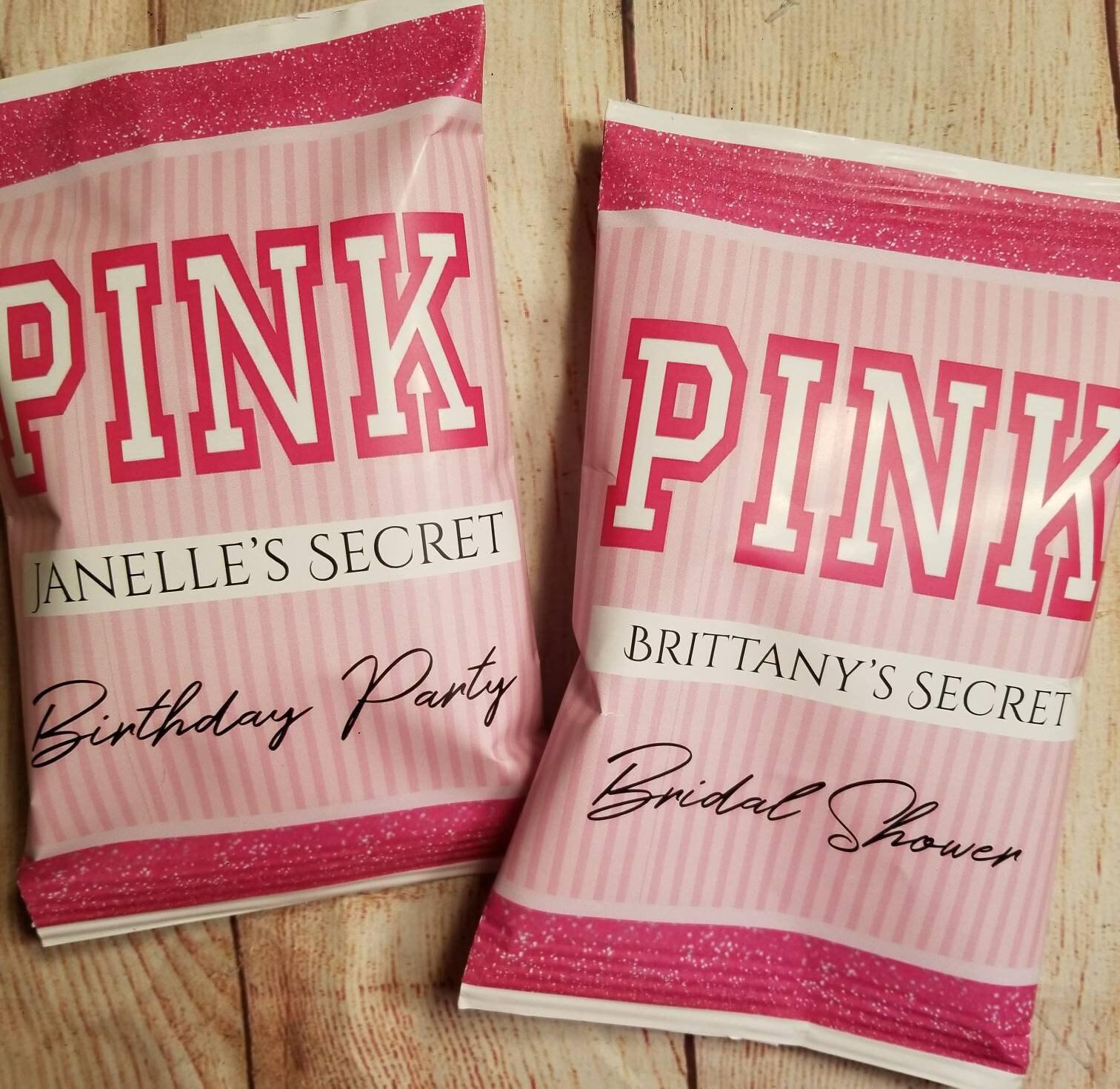 Victoria\'s secret VS pink chip bag / treat / party / | Etsy