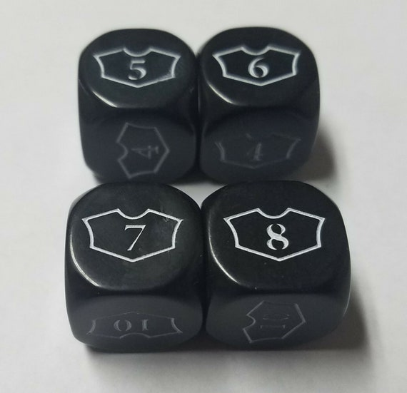 The Gathering 20 Unique Counters for CCGs like Magic MTG Dice Starter Set