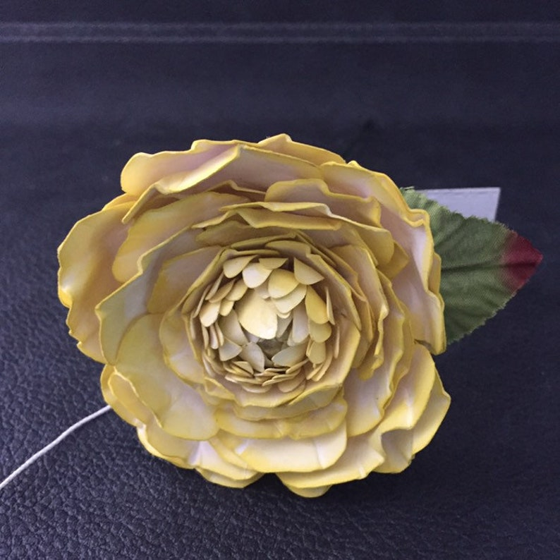 Paper Anniversary Gift Unique Gifts 1st Anniversary Paper Gifts For Her From Him Yellow Personalised Paper Flowers Gift