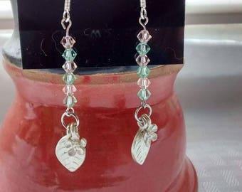 ON SALE Swarovski crystal earrings