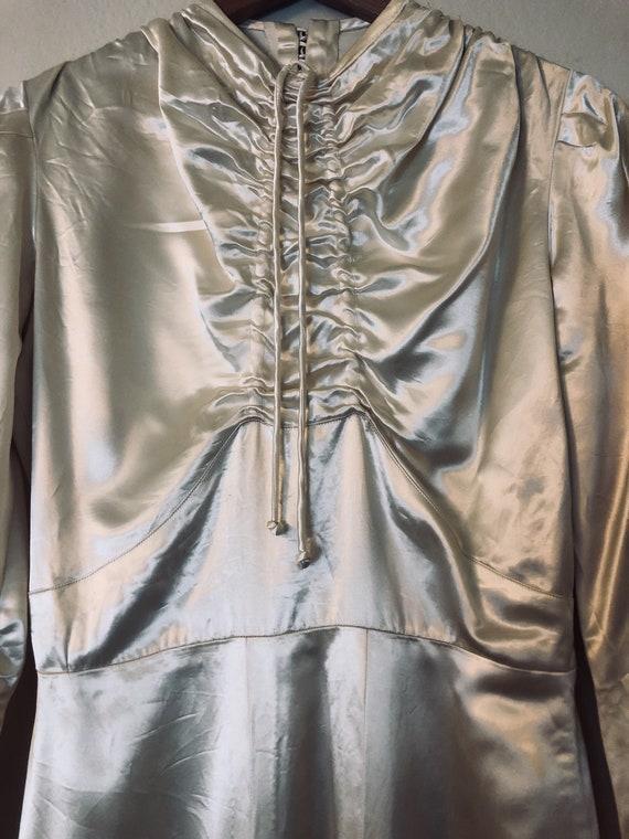 40's-50's Vintage Wedding Dress