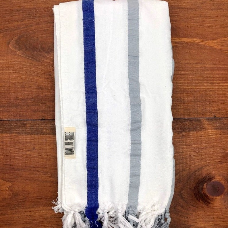 Striped Turkish Towel Cotton Peshtemal for Pool Bath Picnic Nursing Yoga  Spa