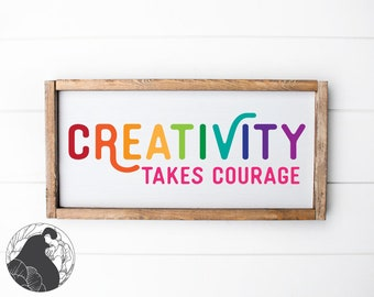 Creativity Svg Etsy