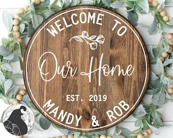 027 Family Name Svg Wedding Sign Home Sign Svg Files Wedding Svg Established Sign Silhouette Last Name Svg Cricut Family Name Sign
