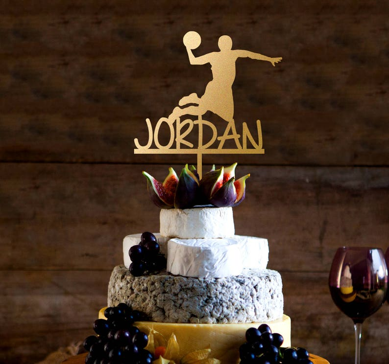 Michael BallJordanSilhouetteNom De Basket GâteauGâteau Jordan NvnPy0Om8w