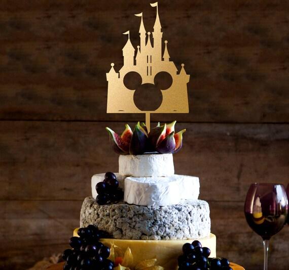 Burg Kuchen Deckel Disney Hochzeitstorte Topper Etsy