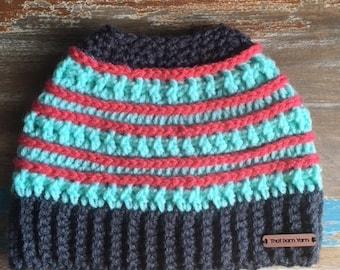 Sloppy Bun Hat