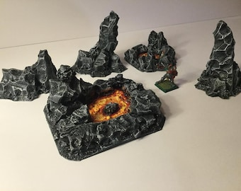 Lava Pits/Terrain