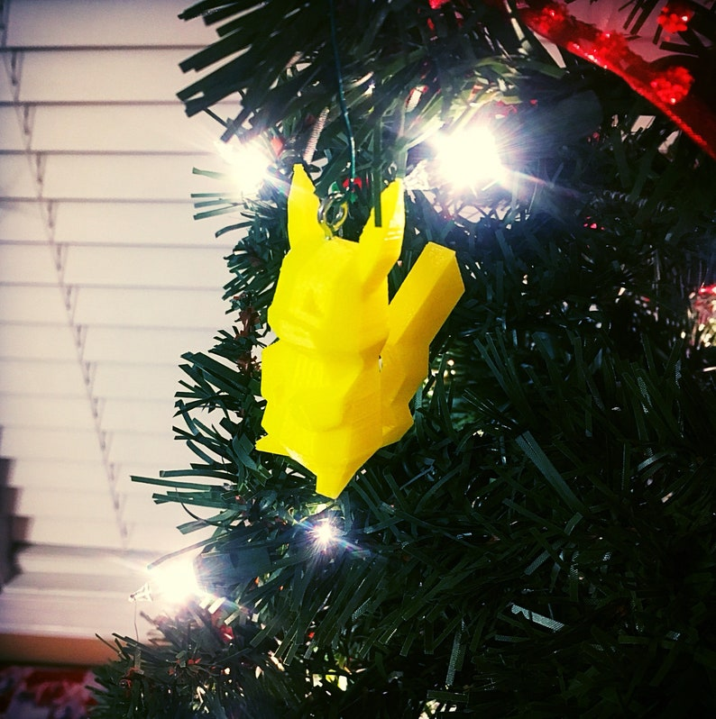 Pikachu Christmas Ornament.Pikachu Christmas Ornament