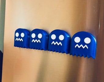 Pac-Man Ghost Magnet Set