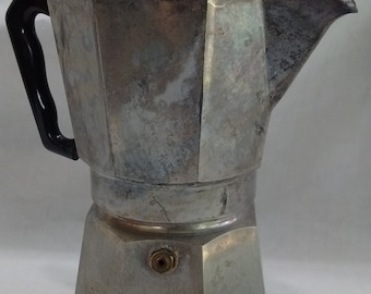 Vintage Single Cup Stove top Expresso Maker ~ABC Omegna made in Italy~ Coffee Machine