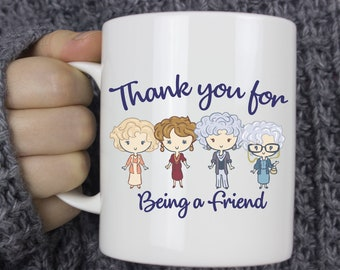 21648343b85 Thank Your for Being a Friend Golden