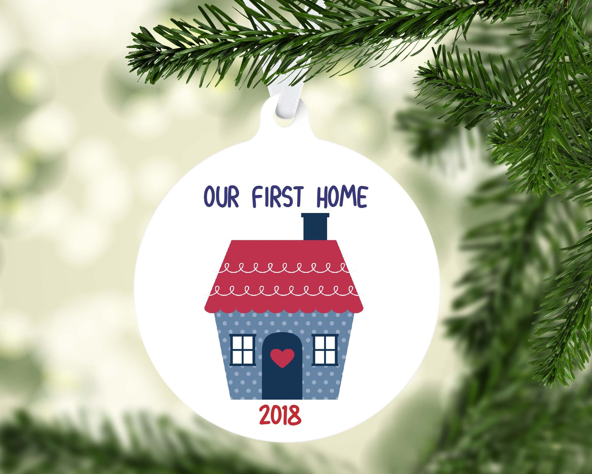 Our First Home//Ornament//Holiday//