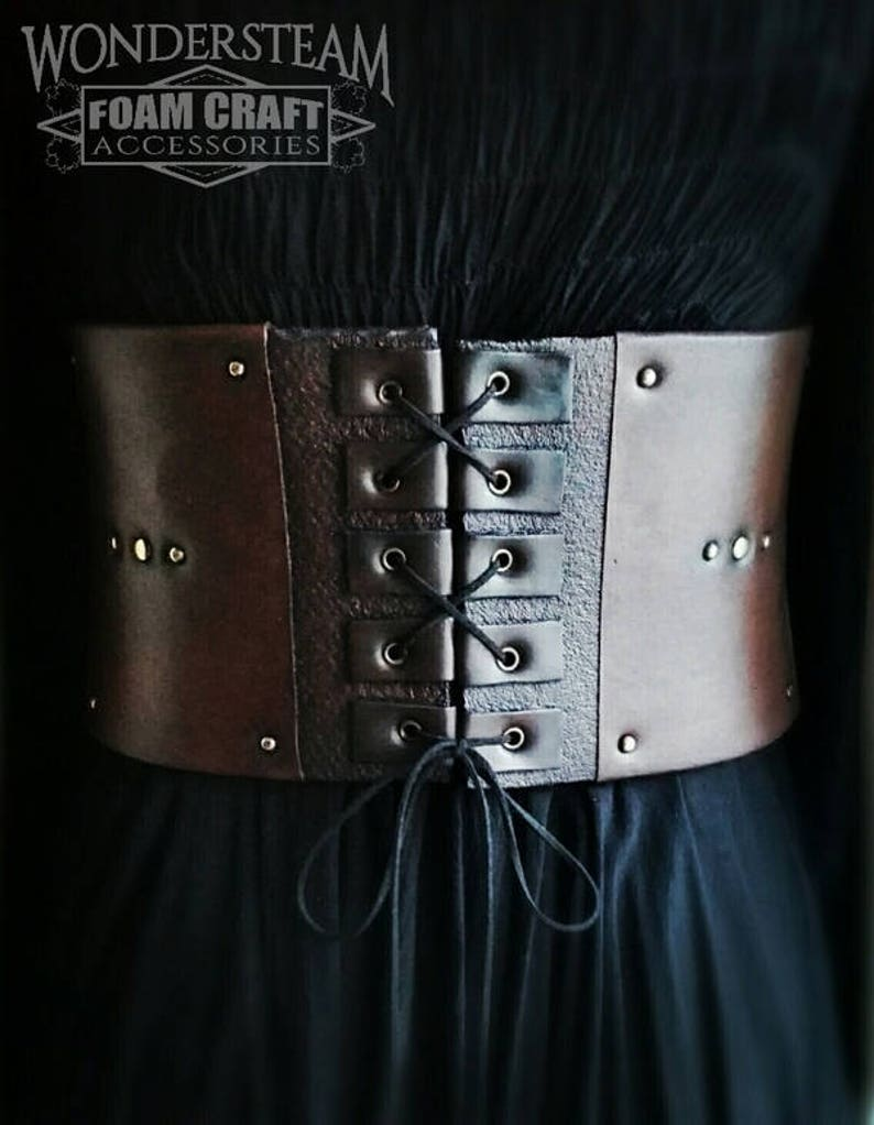 efcc23e20 Large Belt   Corset Armor Medieval   fantasy Man   woman