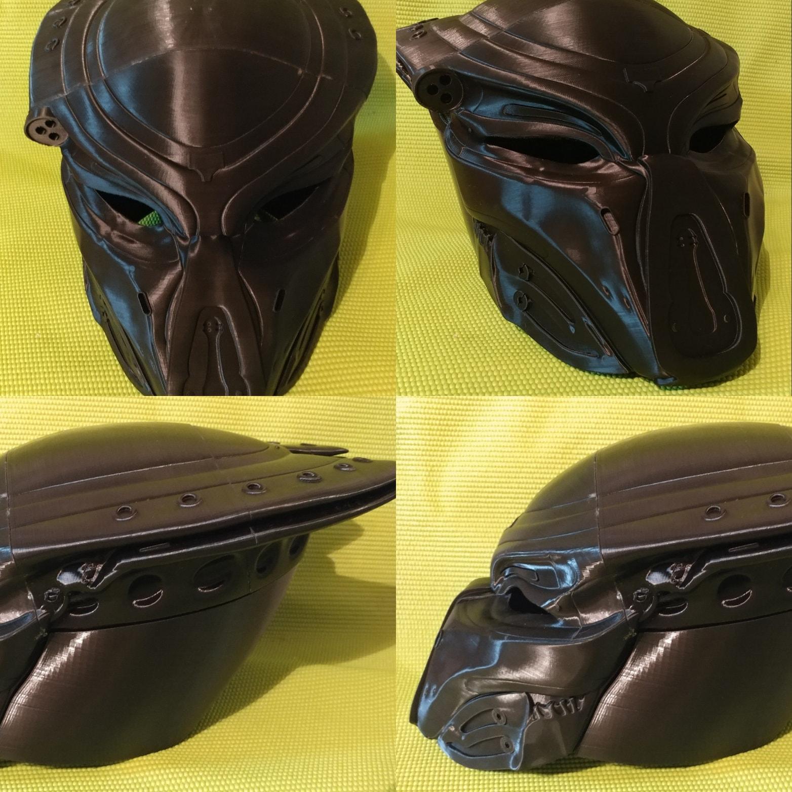 Fugitive predator helm