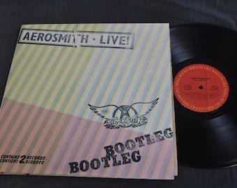 Aerosmith / Live! Bootleg / Double Gatefold Vinyl LP / Columbia / PC2 35564