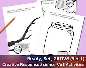 Ready, Set, GROW! (Set 1), Science activities, Art Activities, Coloring Printables, Creative Response Activities for Kids