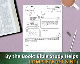 By the Book: Bible Study Helps (COMPLETE SET), Bible Study