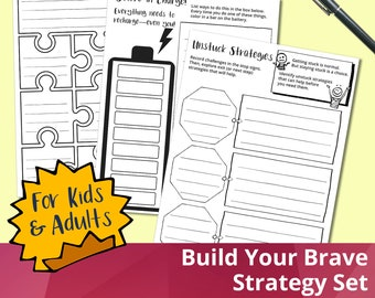 Build Your Brave Strategy Set for Kids & Adults