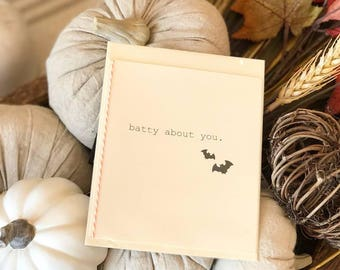 Batty About You Card