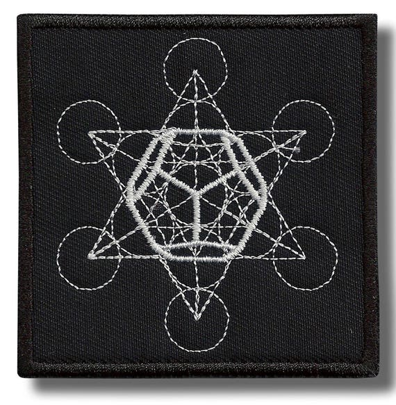 bordado parche 8 x 8 cm Dharma