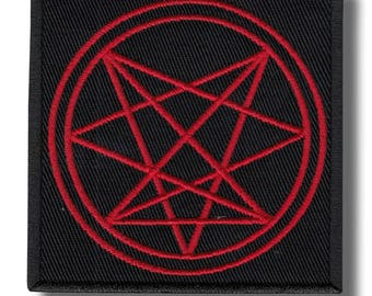 Order of Nine Angles - embroidered patch, 8X8 cm
