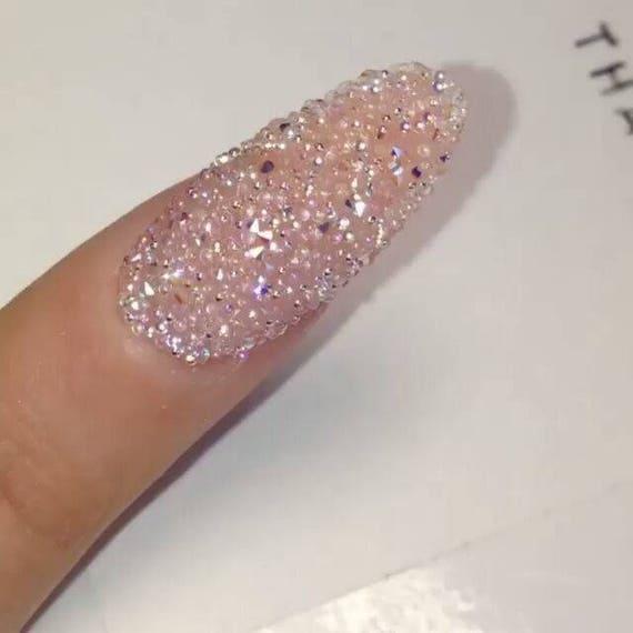8cdc93ba2 Swarovski crystal Pixie 3D nail art Micro Zircon Mini | Etsy