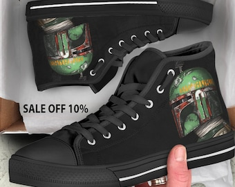 Star Wars shoes, Star Wars High Tops, Star Wars Sneakers, Darth Vader VS Storm Strooper  Colorful, Black High Tops, Star Wars Converse