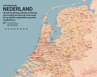 Old Dutch Netherlands: If place names would never change and we still used the first spelling