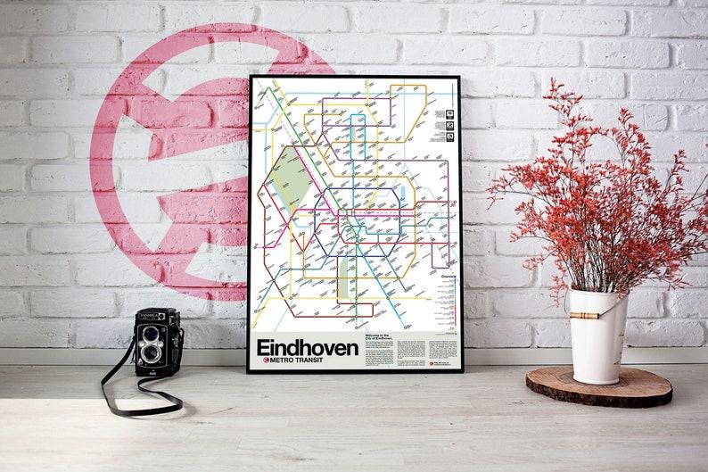 Eindhoven Metro Transit Map image 1