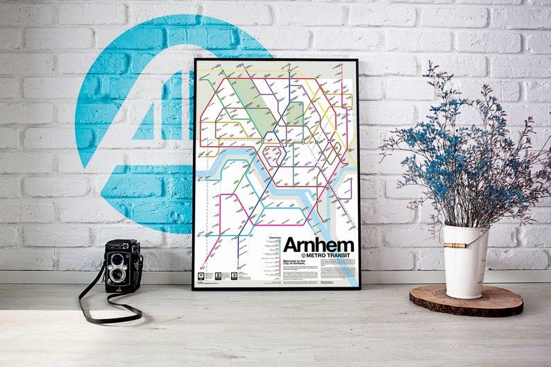 Arnhem Metro Transit Map image 0